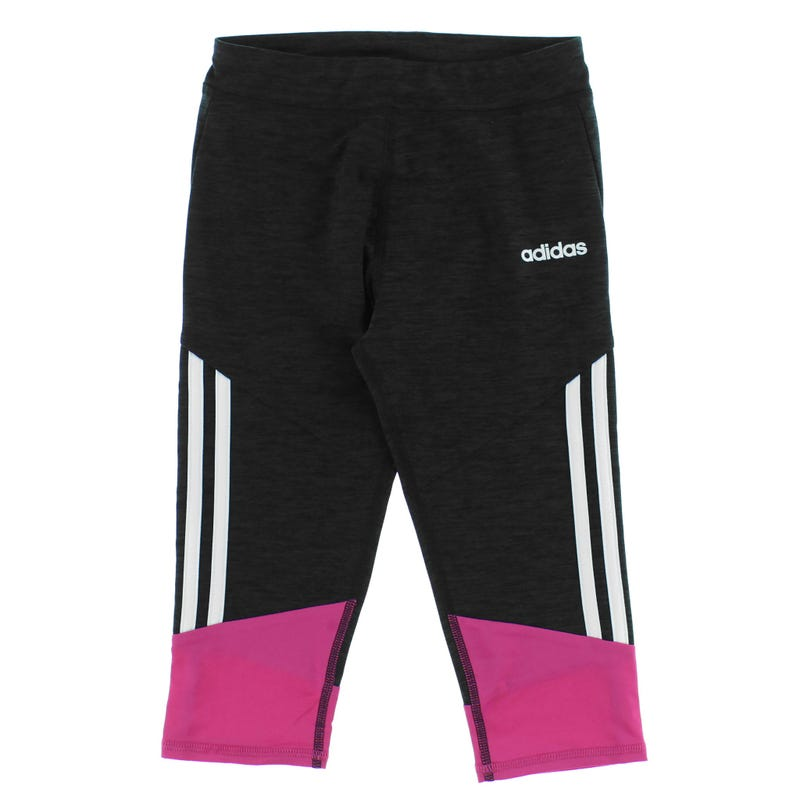 Legging 3/4 Black Adidas 7-16ans