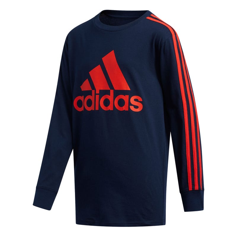 T-shirt Manches Longues Bos Stripe 8-16ans