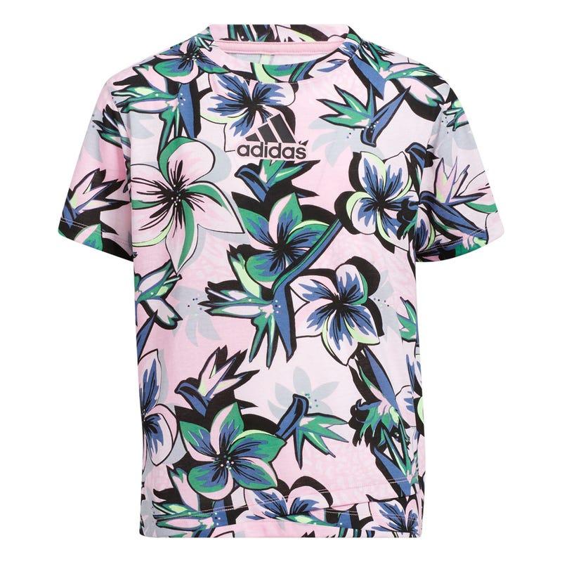 T-Shirt Imprimé Tropical 7-14ans