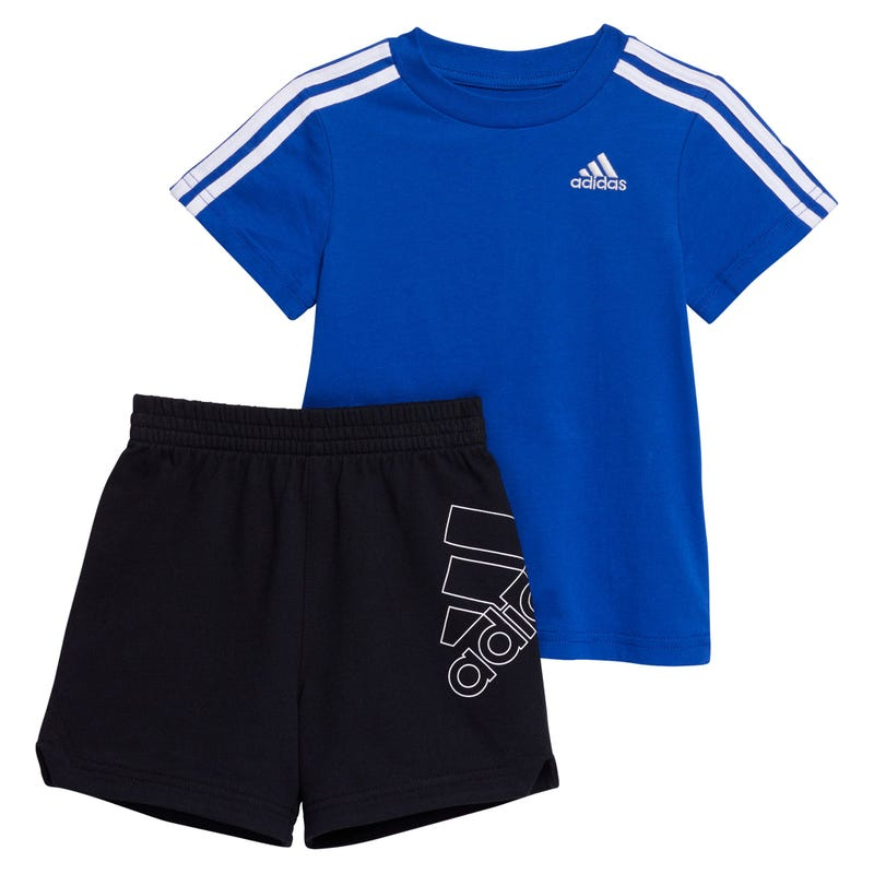 3S French Terry Short Set 9-24m
