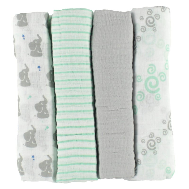 Blanket Swaddleplus Set of 4 - Babyst