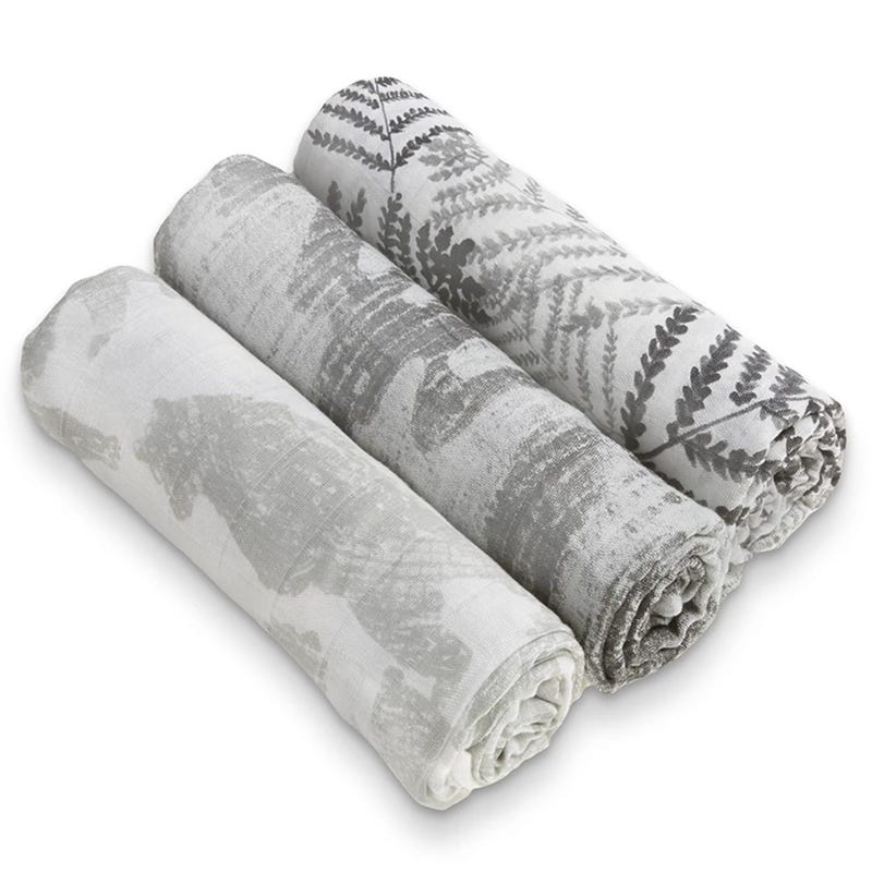 Silky Soft SwaddlesSet of 3 - Forage