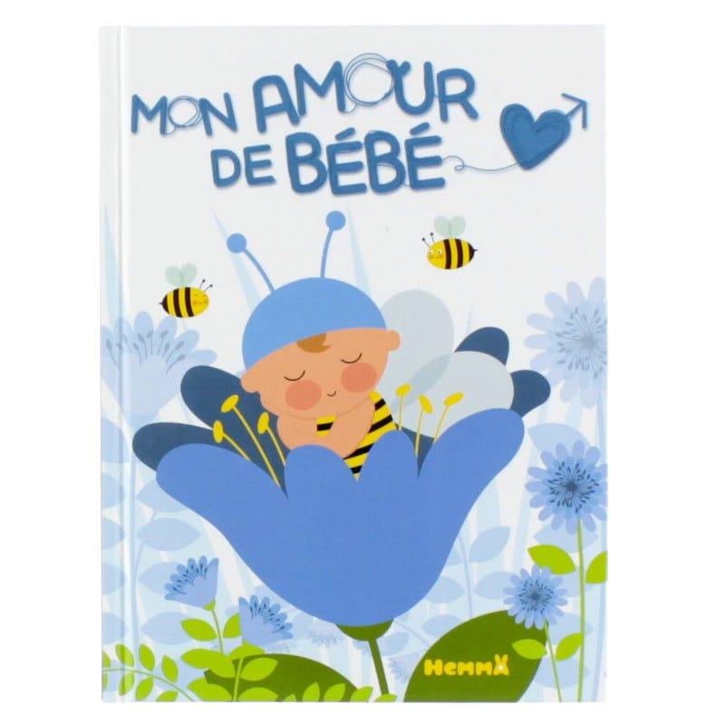 Book Mon Amour de Bébé - Blue