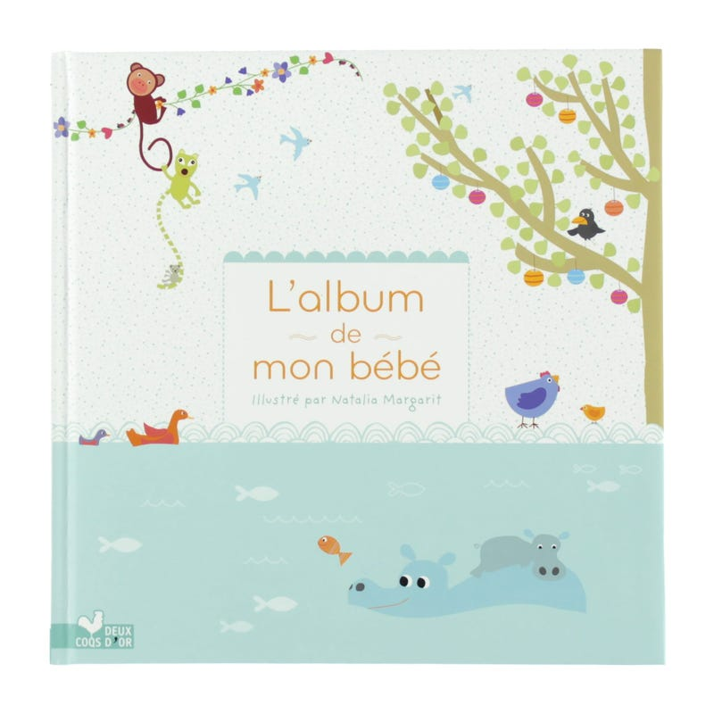 L'album de mon bébé jungle