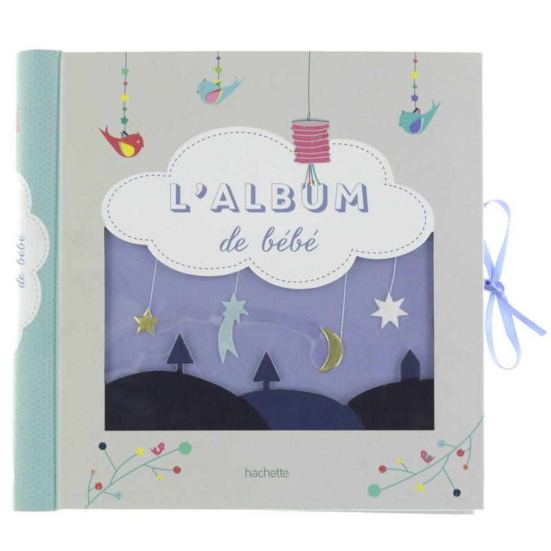 L'album de mon bébé étoiles