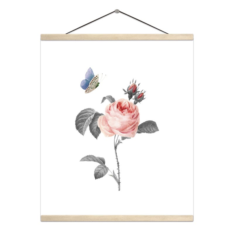 Hanging Poster - Dynasty Flowers