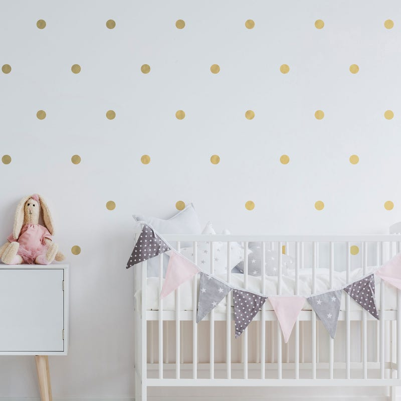 Wall Stickers - Gold Dot