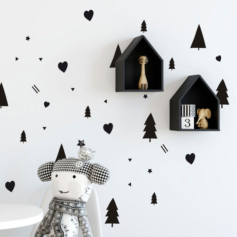 Wall Stickers - Black
