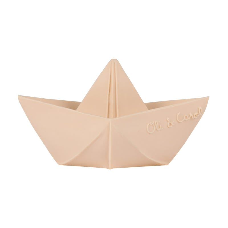 Origami Boat Bath Toy -Nude