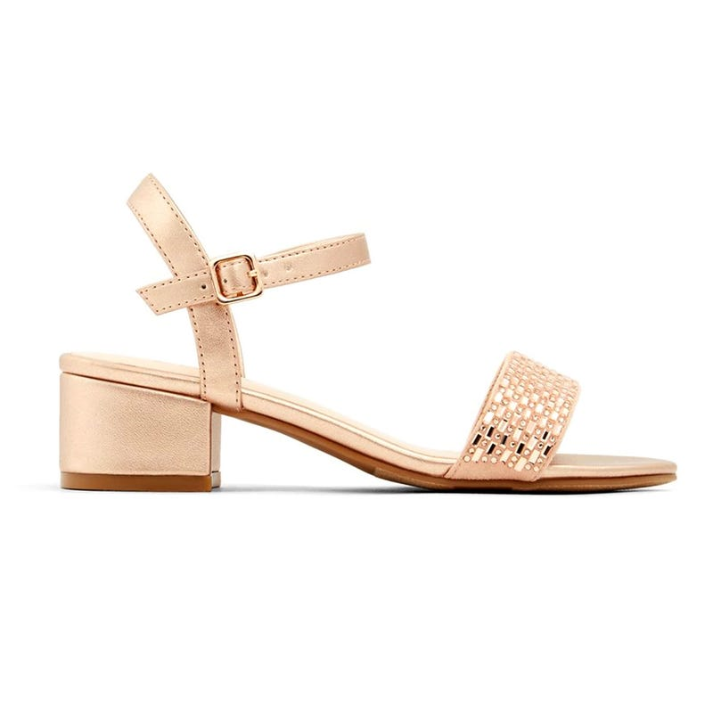 Olyni Rose Gold Sandal 11-6