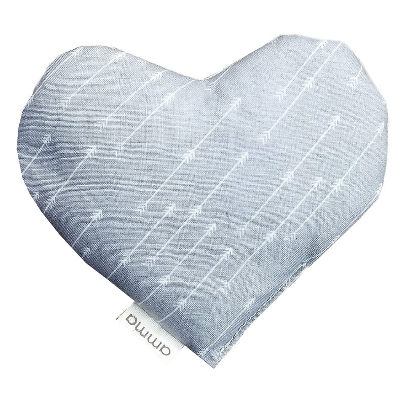 Heart Comfort Cushion - Gray Arrows