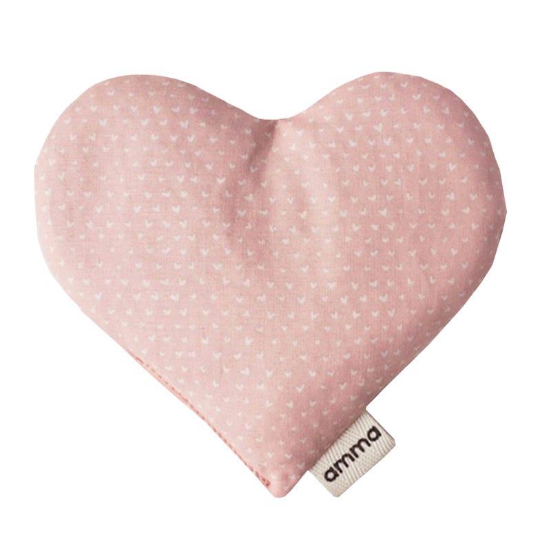 Coussin Cœur Réconfort - Coeur Rose
