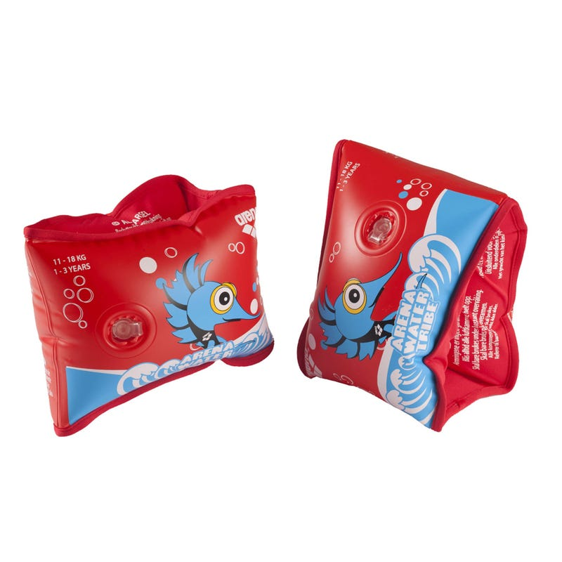 Arena Red Armbands 3-6 y