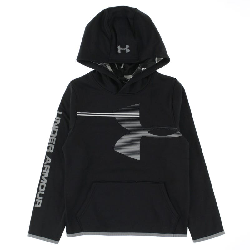 Boy's Armour Fleece Hoodie 8-16y
