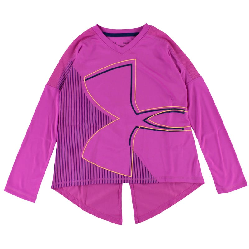 Girl's Tech Armour Long Sleeve 8-16y
