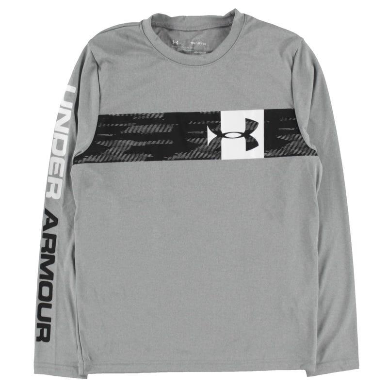 T-Shirt à Manches Longues UA Pixel 8-16ans