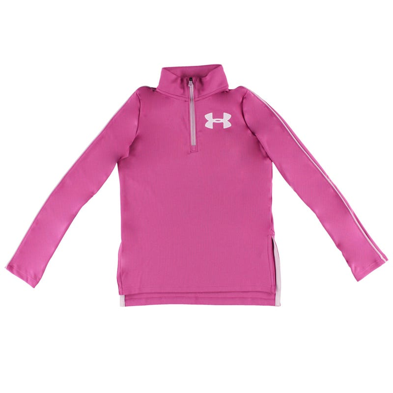 UA Tech 1/2 Zip Long Sleeves T-Shirt 8-16y
