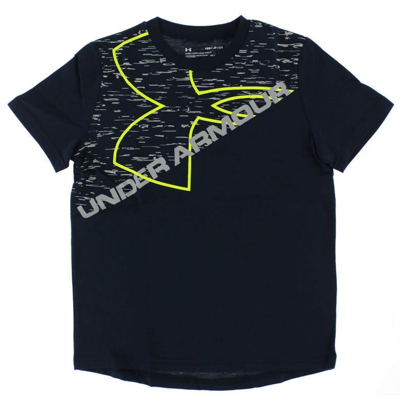 Exploded Logo Short Sleeve Shirt 8-16y