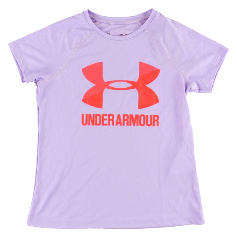 UA Big Logo Solid T-Shirt 8-16y