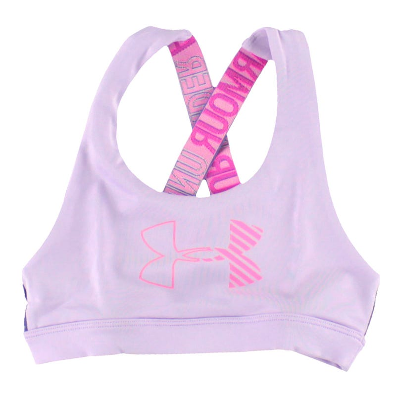 HeatGear Armour Graphic Sports Bra 8-16y