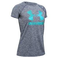 UA Big Logo Twist T-Shirt 8-16y