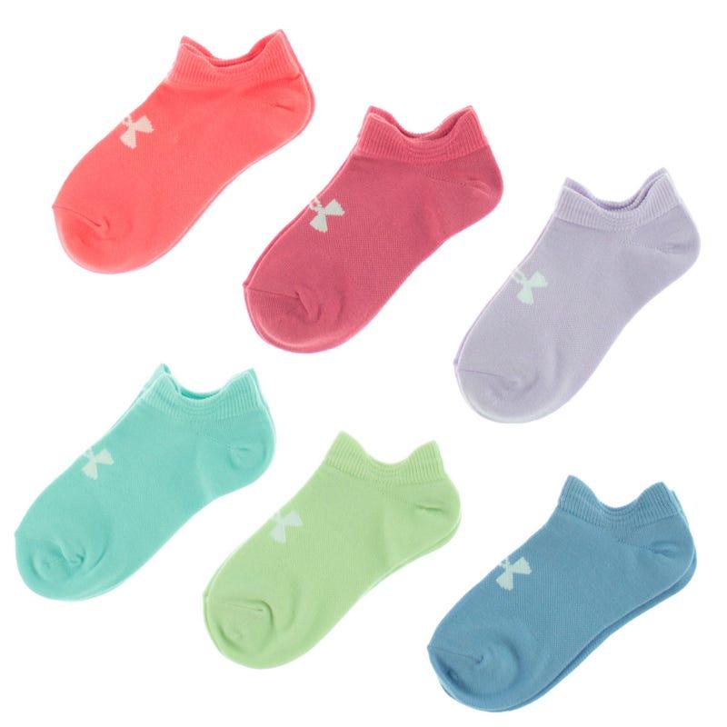 Socks 6-Pack UA Girl 13.5-4years