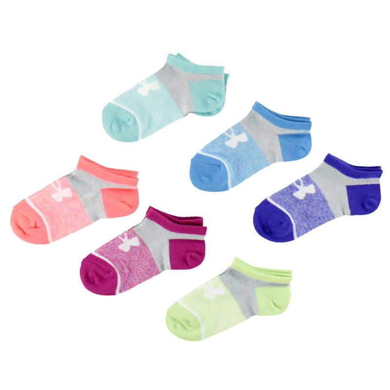 Essential Girl Socks 4-7y - Set of 6