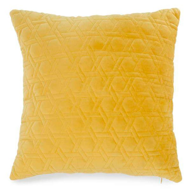 Cushion Velvet - Yellow