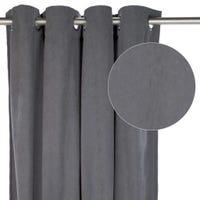 Suede Curtain - Grey