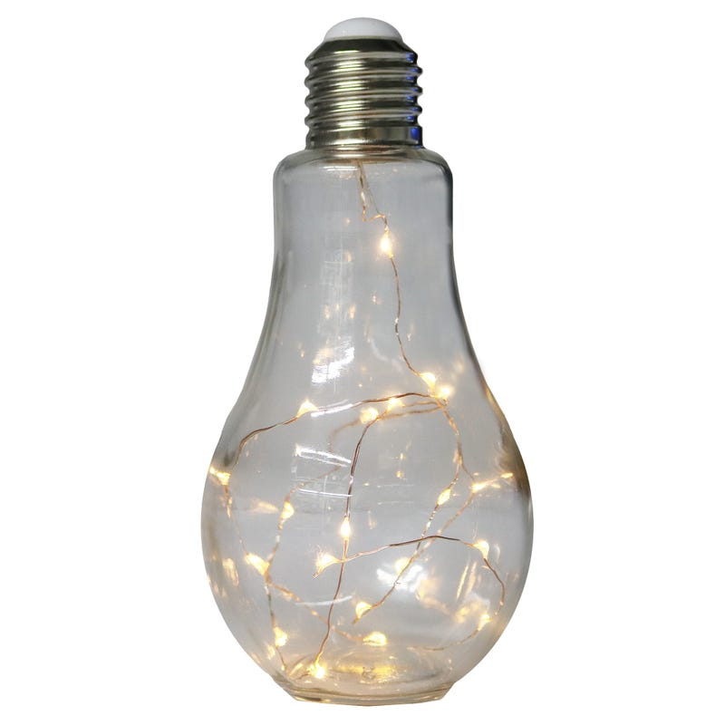 Light Bulb Lamp - Transparent