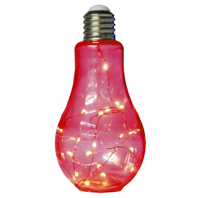Lampe Ampoule - Rouge