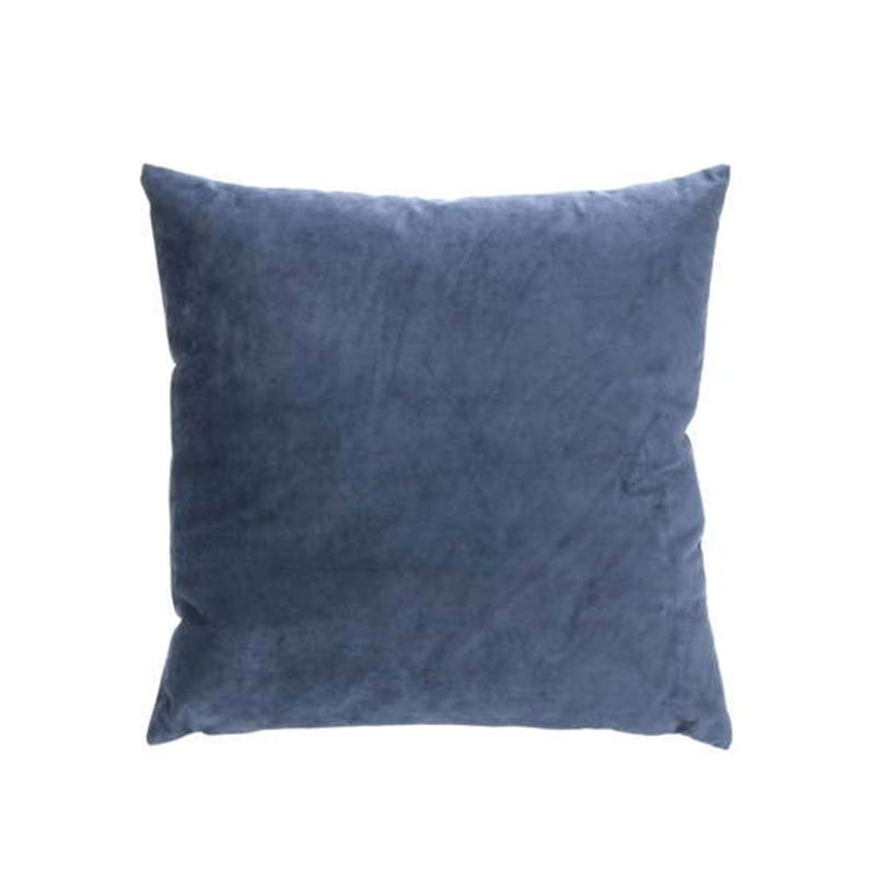 Cushion Suedette Blue 12x12