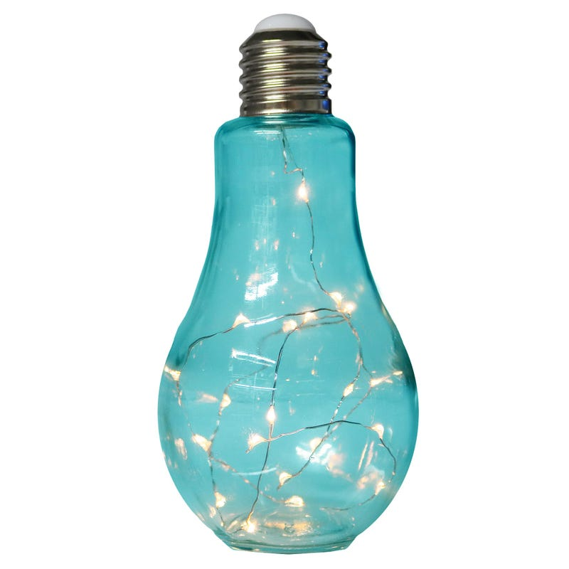 Light Bulb Lamp - Blue