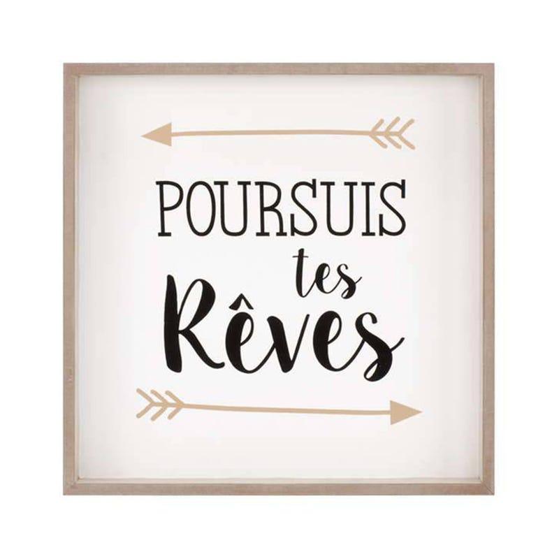 Cadre Poursuis Tes Reves