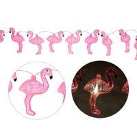 Light Tinsel - Pink Flamingo