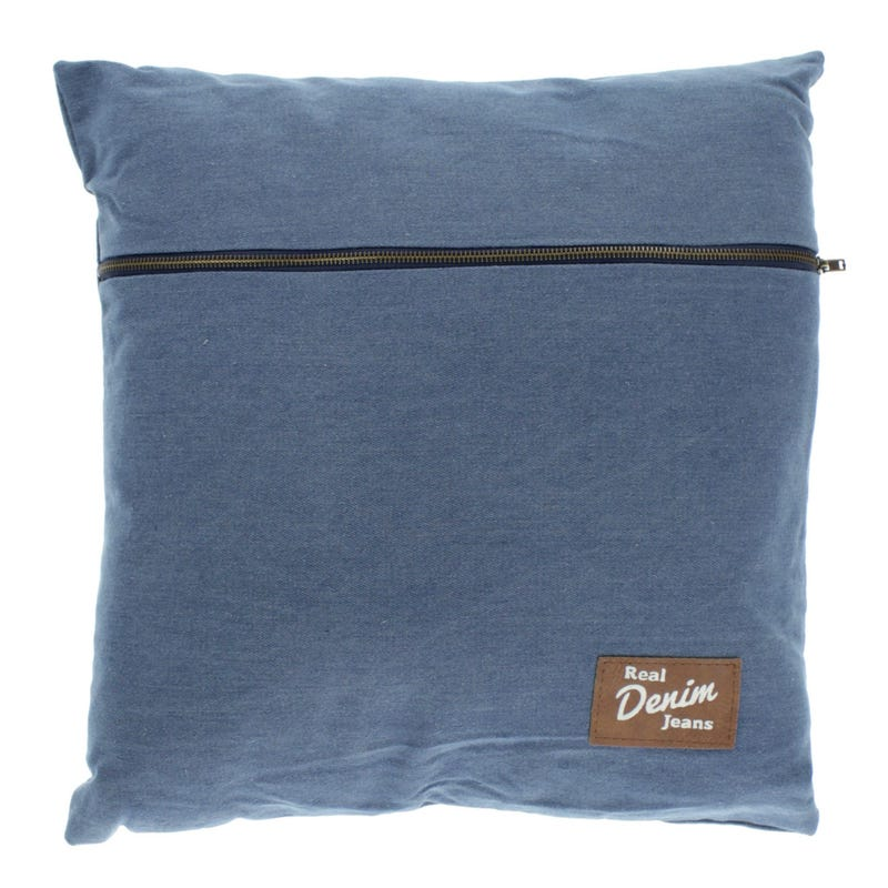 Coussin Jeans 17x17