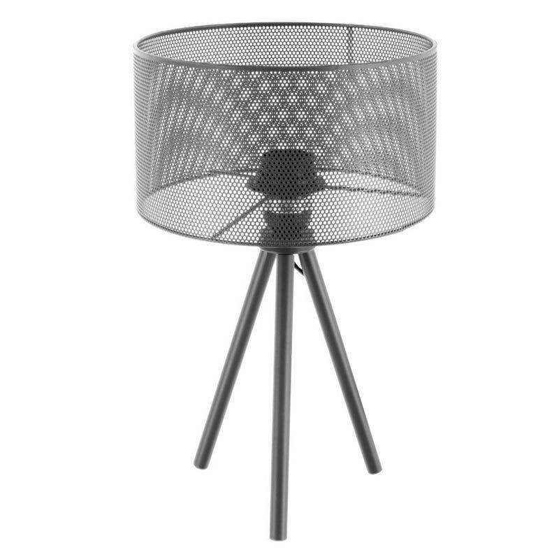 Lampe de Table - Gris Métallique