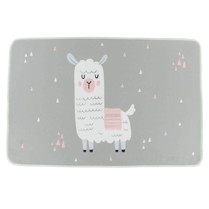Llama Carpet- Gray