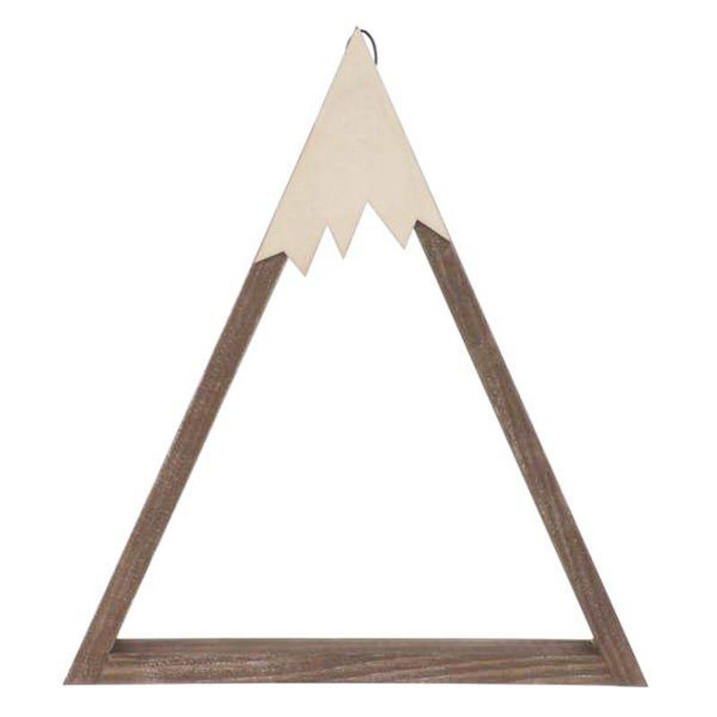 Tablette Triangle Bois Brun