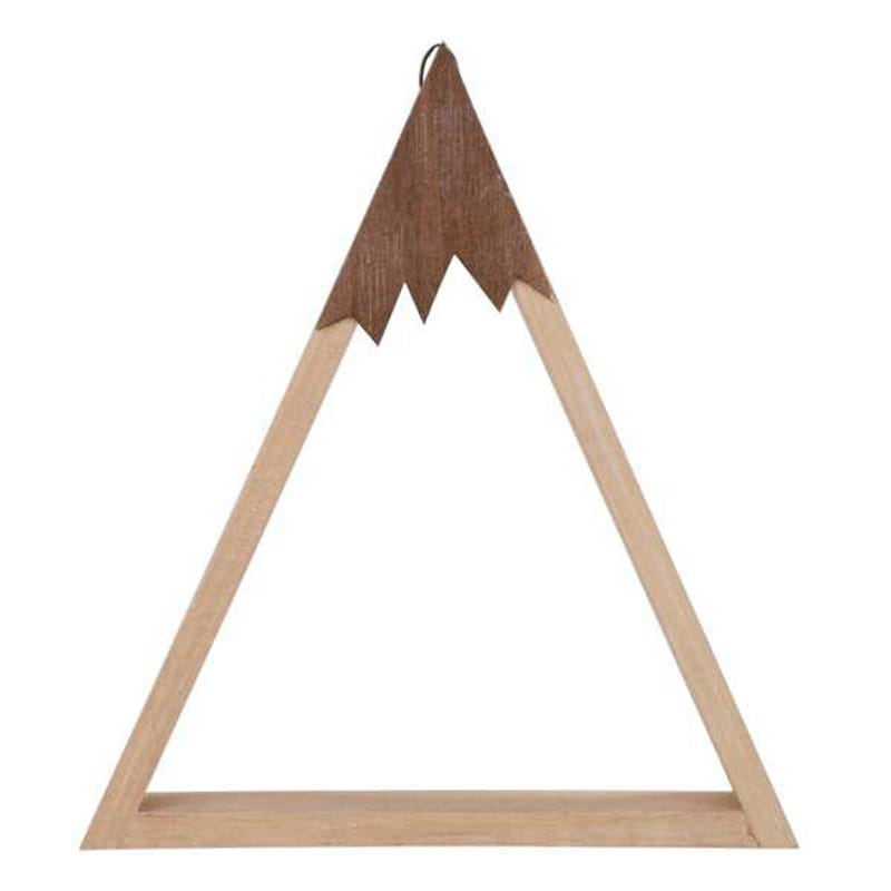 Tablette Bois Triangle