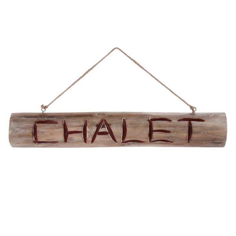 Log Wall Chalet