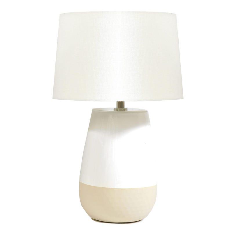 Lampe Beige 2 Tons