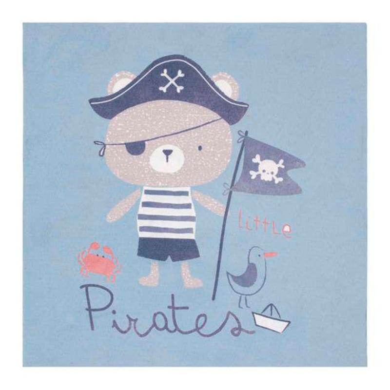 Cadre Pirate - Bleu
