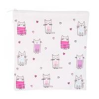 Sandwich Bag - Pink cats