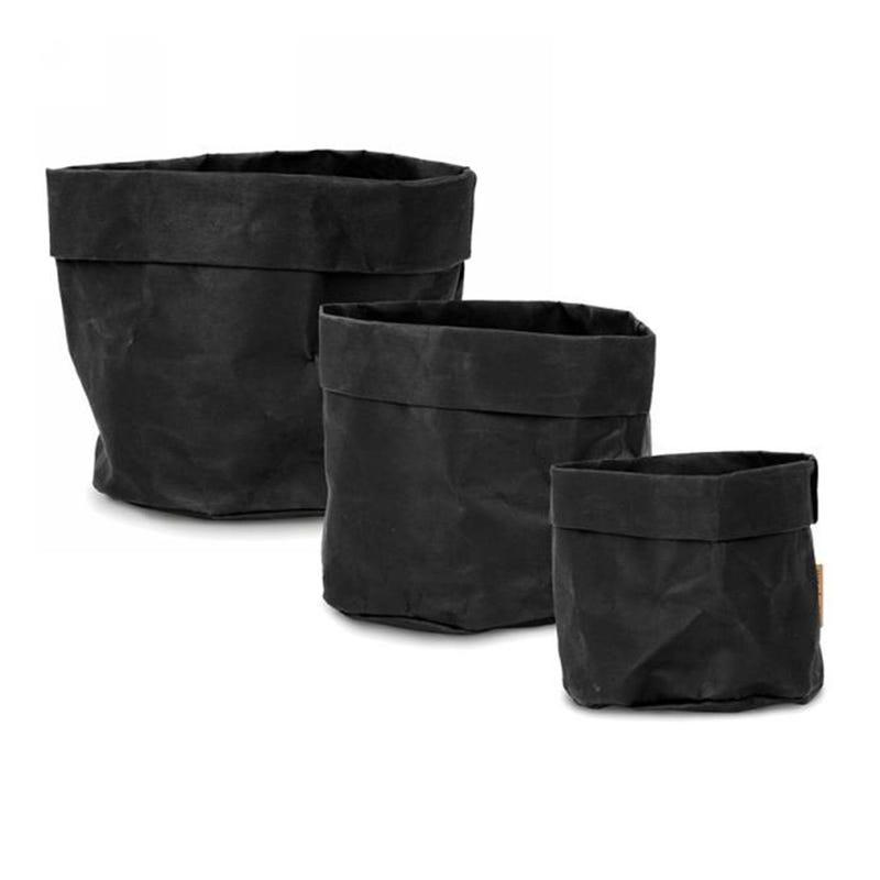 3 Baskets Kit - Black