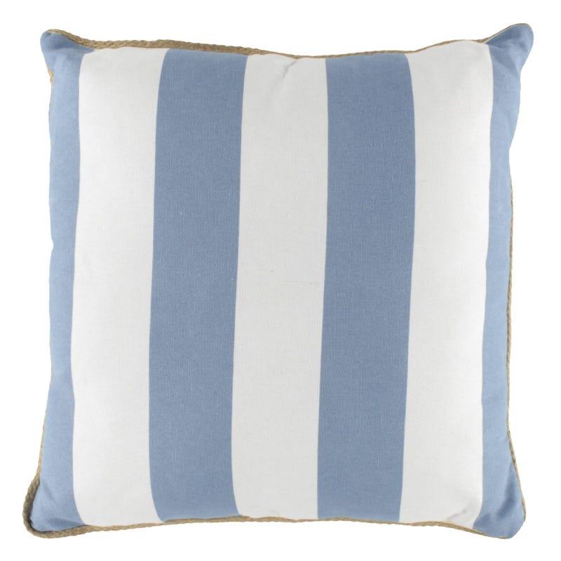 Striped Cushion - Blue