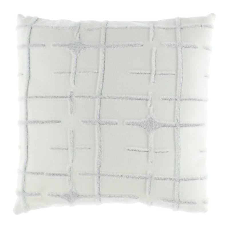 Fur Cushion - White