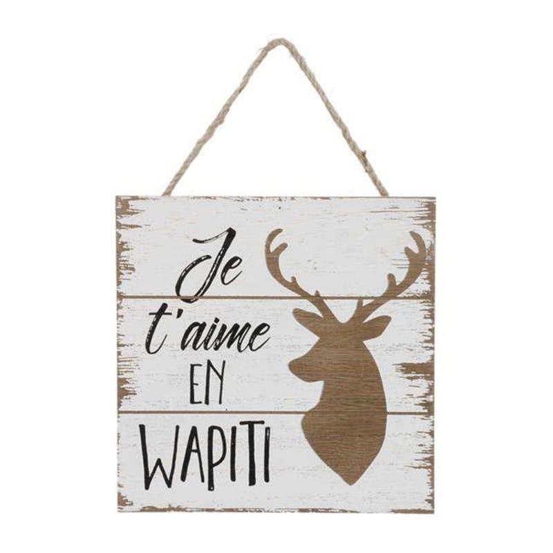Cadre Je T'aime En Wapiti