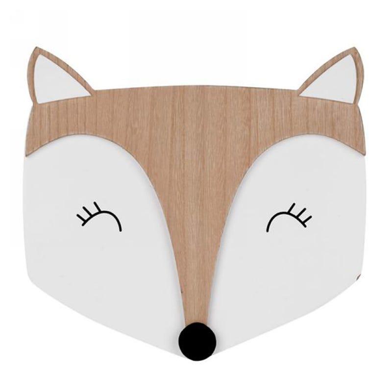 Murale Fox in Wood