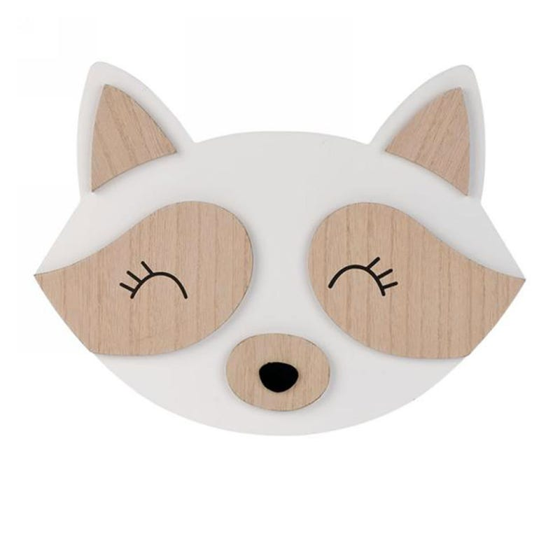 Wall Wood Decoration - fox